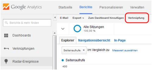 verknüpfung-in-google-analytics