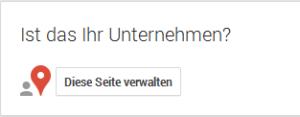 Ihre Google + Seite verwalten