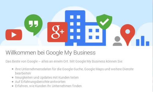 Für lokal ansässige Unternehmen ist Google My Business ein Must