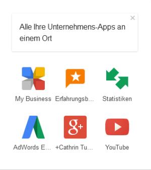 Unternehmens Apps - alle Google-Dienste an einem Ort