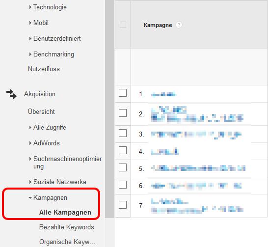 kampagnen-tracking mit dem Google URL-Builder