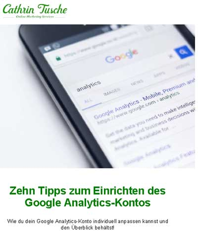 Google Analytics Mini-Ebook