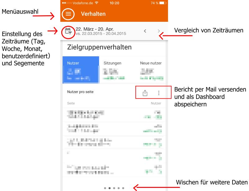 Google Analytics 3.0 App