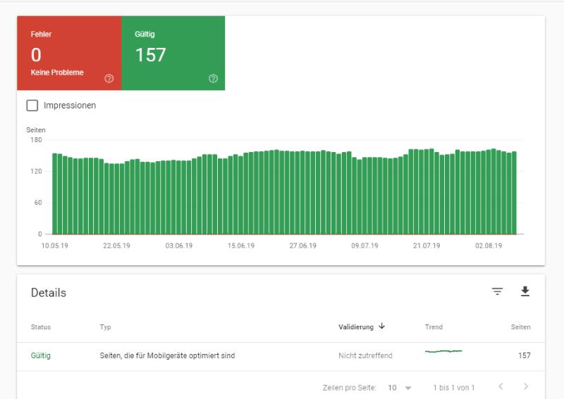 nutzerfreundlichkeit auf mobilen Geräten in der Google Search Console