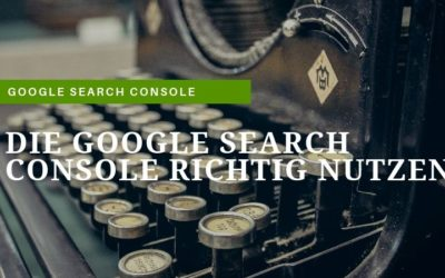 Die Google Search Console