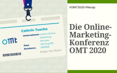 Recap zur Online-Marketing Konferenz OMT 2020
