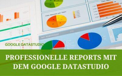 Einführung in das Google DataStudio