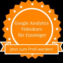 Google Analytics Videokurs für Einsteiger